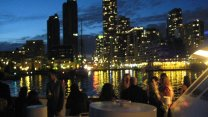 Evening Cruise During The Northern Lights Boat Cruise Party In Toronto