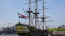 Dutch VOC Naval History At The Scheepvaart Museum In Amsterdam