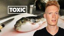 Eating Toxic Blowfish in Tokyo