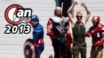 Captain Guile Goes Anime North 2013