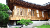 Traditional Korean Living At The Ancient Bukchon Hanok Village In Seoul