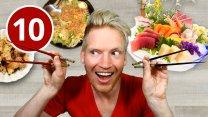 10 Strange Japanese Dishes in Tokyo