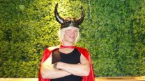 Halloween With Mysterious Thor At Maison Nightclub