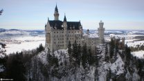 Most Beautiful Caste In Europe: Neuschwanstein In Germany