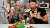 Weird American Junk Foods & Drinks Review