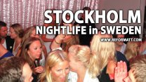Gorgeous Blonde Swedish Girls in Stockholm Nightlife