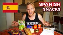 Bizarre Spanish Snacks Review in Barcelona