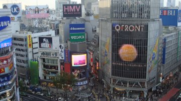 Girls Only Mall At Shibuya 109 In Tokyo