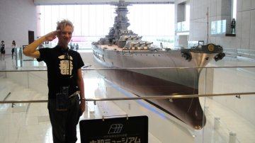 Biggest War Battleship Ever Built At Yamato Museum In Japan