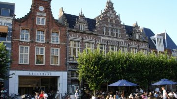 Browsing Through The Shopping Street In Haarlem