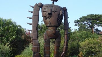 Japanese Animation Studio Ghibli Museum In Mitaka