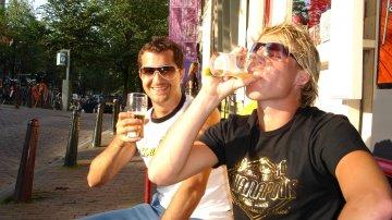 Smoking Weed In Amsterdam Prior To Sensation Black 2006