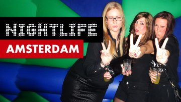 Cute Dutch Girls in Amsterdam Nightlife