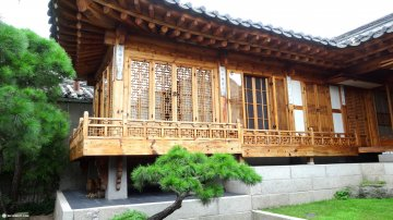Traditional Korean Village at Bukchon Hanok in Seoul