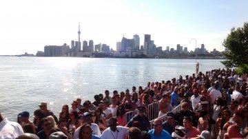 Justin Bieber & Deadmau5 at Cabana Pool Bar in Toronto