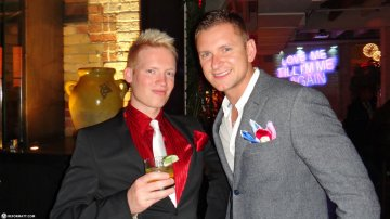 Christmas Party At Brassaii In Toronto