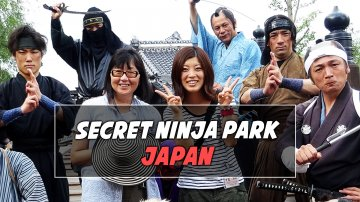 Secret Ninja Park in Japan: Edo Wonderland
