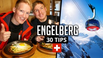 30 Things to do in Engelberg & Titlis