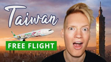 EVA Air: Free Flight to Taiwan
