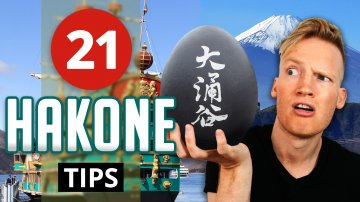 21 Things to do Hakone, Japan
