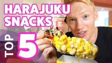 TOP 5 Harajuku Snacks YOU MUST EAT in Tokyo