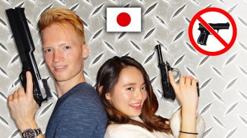 Shooting Guns in Tokyo at Hollow Point Bar