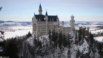 Most Beautiful Caste In Europe: Neuschwanstein In Germany