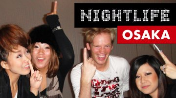 Wild Japanese Girls in Osaka Nightlife