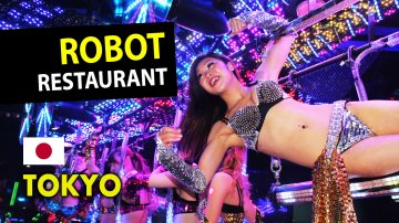 Japan's Most Ridiculous Show at Robot Restaurant in Tokyo