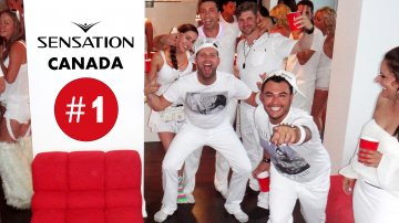 Sensation Canada: Ocean of White in Toronto