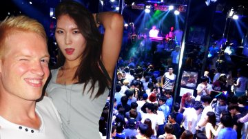 Wild Korean Girls in Seoul Nightlife