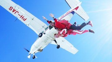 My First Skydive on Texel