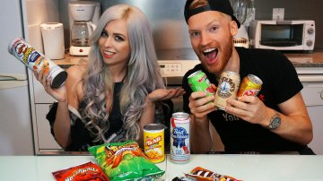 Weird American Junk Foods & Drinks Review