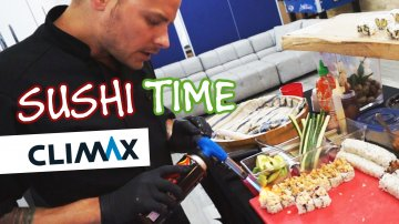 Sushi Time at Climax Media