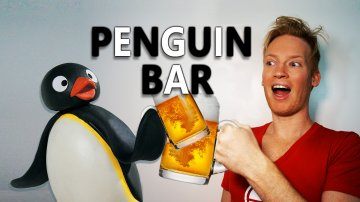 Drinking with Penguins in Tokyo