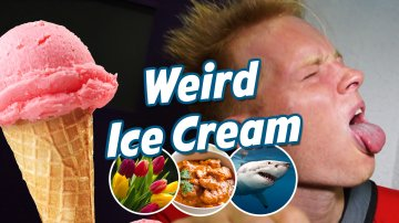 World's Weirdest Ice Cream! Why Japan?!