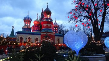Tivoli: Oldest Theme Park In The World Is In Denmark