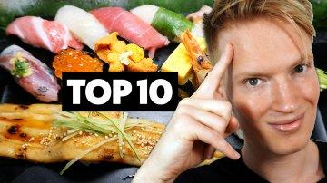 TOP 10 Must-Eat Foods in Tokyo, Japan
