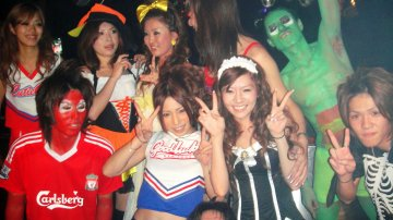 How To Celebrate Halloween In Tokyo? You Dance Freaky ParaPara!