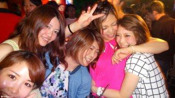 Roppongi Nightlife in Tokyo, Japan