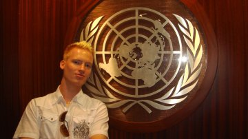 Inside The United Nations In New York City
