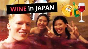 Wine & Coffee Spa in Hakone, Japan